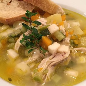 Sensommer suppe