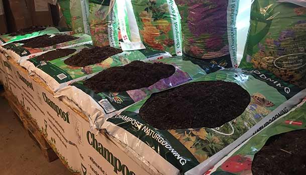 Jordprodukter fra Champost