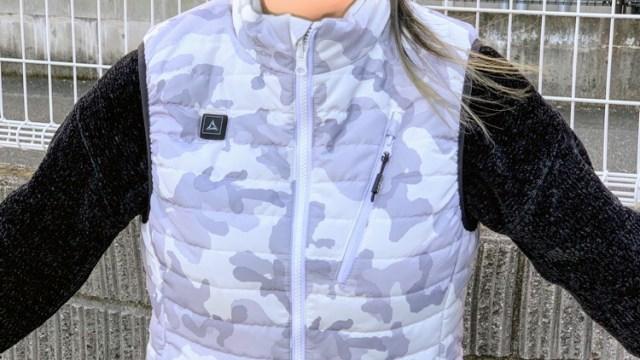 ワークマン人気商品ヒータベスト・着るコタツの口コミ!女子着用サイズ感や暖かさは?画像