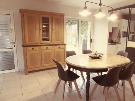 relooking meubles chène décapage peinture déco décoration intèrieur DIY