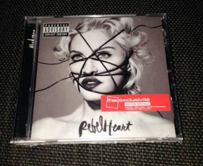 Rebel Heart special French Fnac edition - Madonnaunderground
