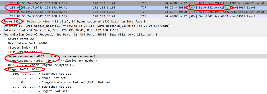 TCP Connection Close – What does it look like in Wireshark