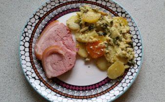 Flødekartofler på rosenkål (2)