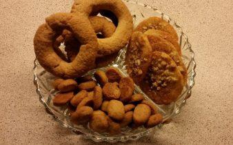 Pebernødder, vaniljekranse og jødekager
