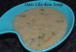 Oats Chicken Soup