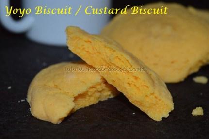 Yoyo Biscuit / Custard Biscuit