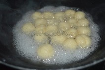 Rasgulla is almost done