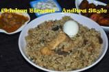 Chicken Briyani - Andhra Style