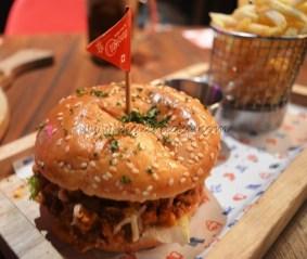 Burger - Chicken Sloppy Joe Burger