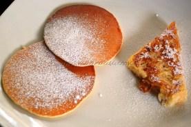 Jack fruit pancake and Bread Toast