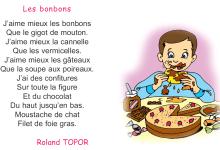 Photo of poème les bonbons  livre de 4 ème année