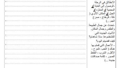 Photo of تقييم في مادة الإنتاج الكتابي السنة الثانية السداسي الأول