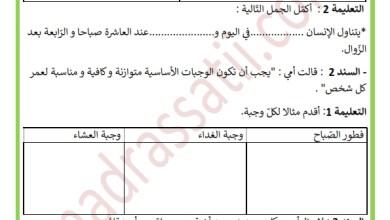 Photo of دعم في مادة الايقاظ العلمي السنة الثالثة السداسي الأول
