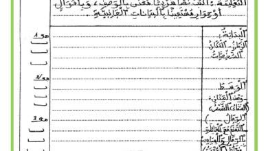 Photo of اختبار الثلاثي الثالث – انتاج كتابي – السنة الرابعة