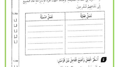 Photo of امتحان الثلاثي الثاني قواعد لغة السنة الثالثة
