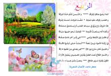 Photo of قصيدة الربيع للشاعر جعفر ماجد
