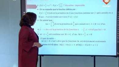 Photo of حصة مراجعة في مادة الرياضيات لتلاميذ البكالوريا شعبة العلوم التجريبية|الحصة الأولى