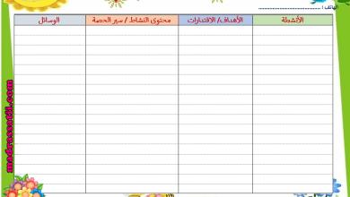 Photo of نماذج لكراس الاعداد اليومي