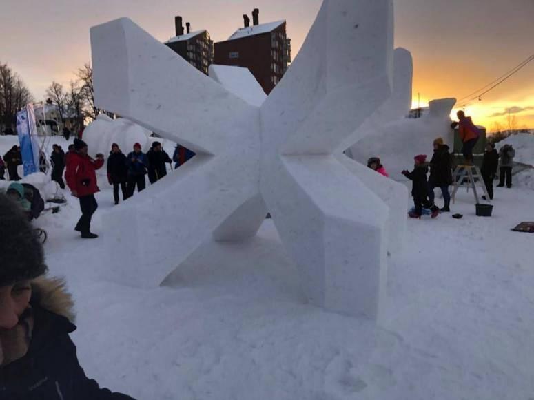 Esther Fuster - Premio Escultura en Nieve - Obra Year 2020