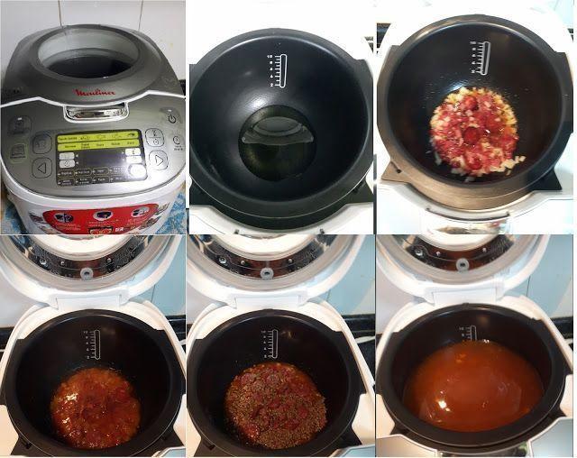 Paso a paso de las Lentejas en el robot de cocina moulinex