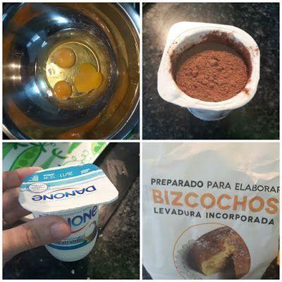 Bizcocho de Chocolate en el robot de cocina moulinex 1