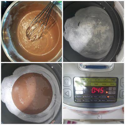 Bizcocho de Chocolate en el robot de cocina moulinex 2