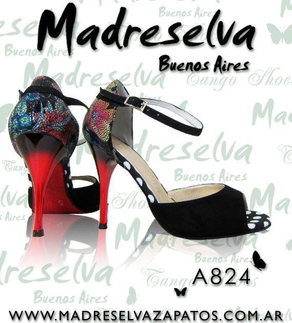 Zapatos de Tango A824