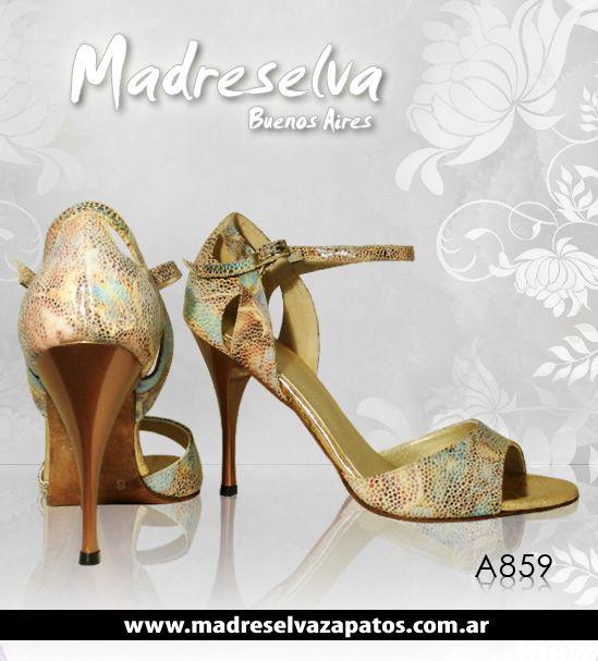 Zapatos de Tango A859