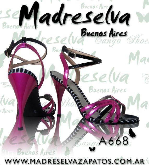 Zapatos de Tango A668