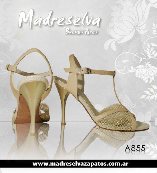 Zapatos de Novias A855BEIGE