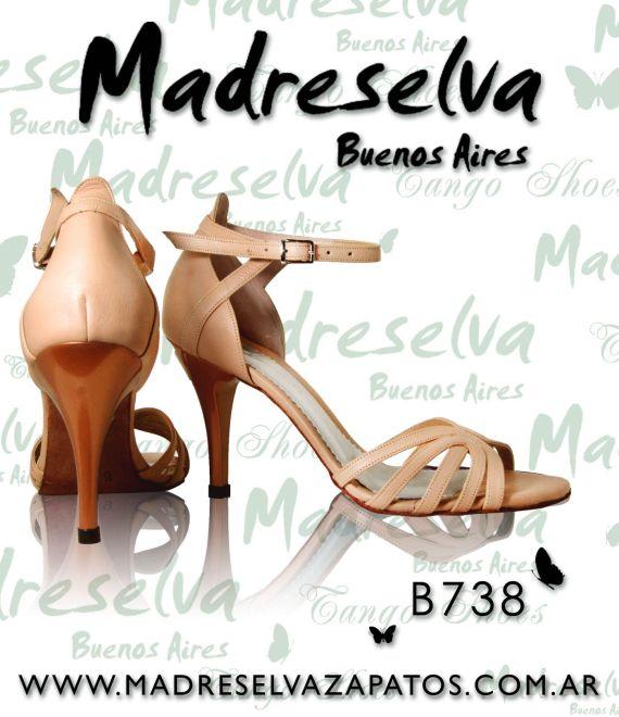 Zapatos de Tango B738