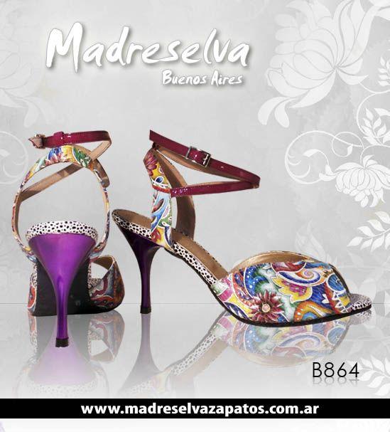 Zapatos de Tango B864