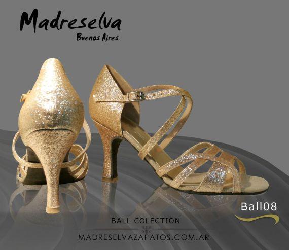 Zapatos de Salsa y Bachata Ball08L