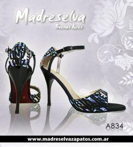Zapatos de Tango Madreselva A834N