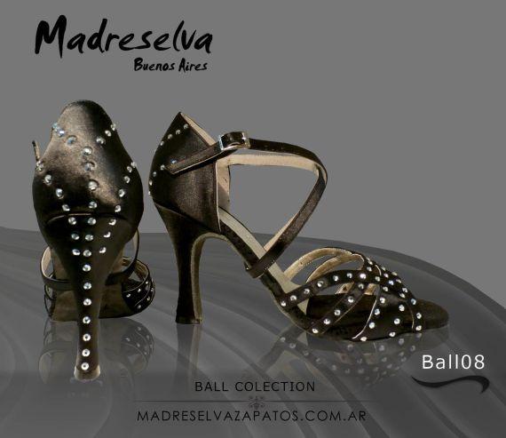 Zapatos de Salsa y Bachata Ball08 Piedras