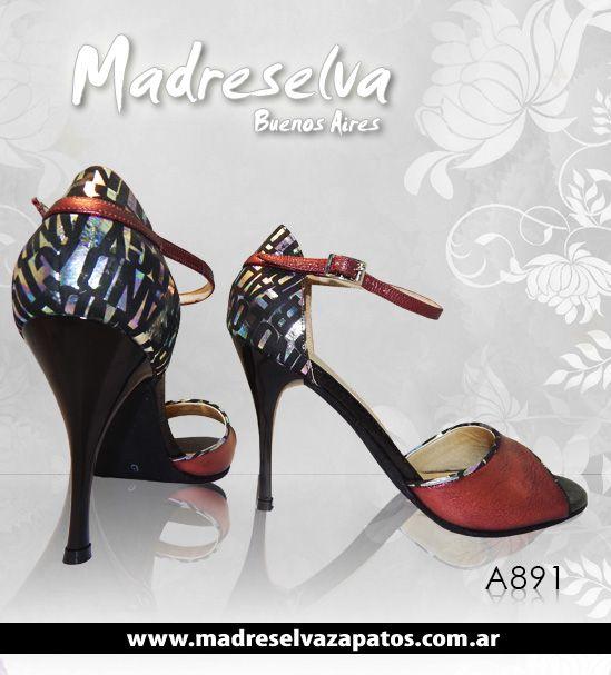 Zapatos de Tango A891