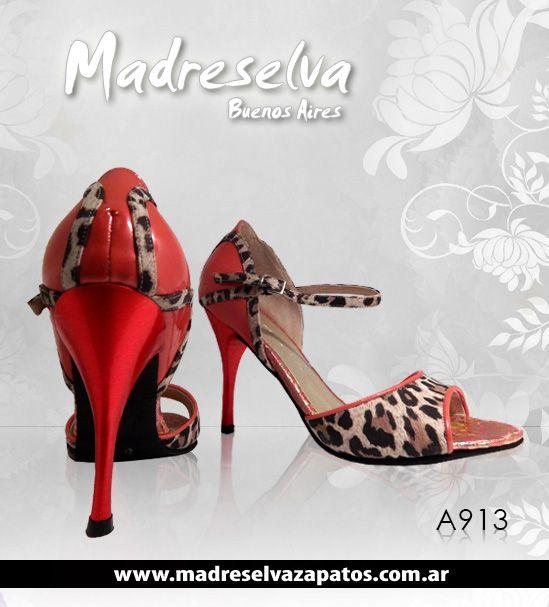 Zapatos de Tango A913