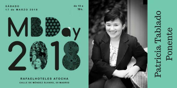 Ponente #Mbday18. Patricia Tablado
