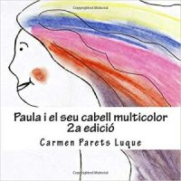 Paula i el seu cabell multicolor