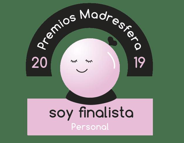 Finalista Premios Madresfera 2019 Personal