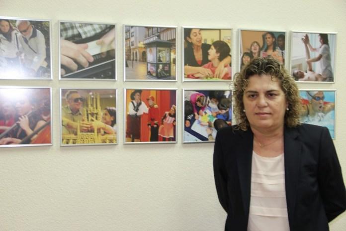 Palahí durante la entrevista con MWW en la sede de la Fundación ONCE en Madrid. Fotógrafa: Ana Jaén