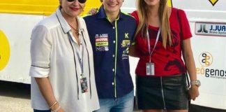 Ana Carrasco en el Circuito de Jerez.