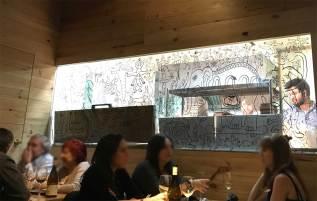 Pajarita restaurante calle Aodaca Madrid