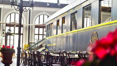 Gastrorail en el Museo del Ferrocarril de Madrid