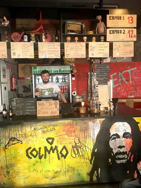 Clandestino Burger Eloy Gonzalo