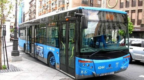 EMT sustituirá temporalmente el servicio de trenes entre Atocha y Recoletos por una línea de autobús