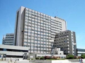 Otra imagen del Hospital Universitario La Paz.