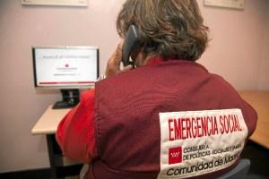 El servicio está coordinado con el de Emergencia Social y con el Centro de Emergencias 112.