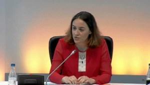 Blanca Hernández, delegada del Gobierno para la Violencia de Género / Foto: youtube.com.