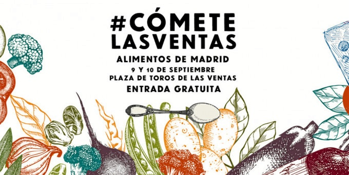 El mercado gastronómico de #CómeteLasVentas dará un toque de sabor al primer fin de semana de septiembre en la capital